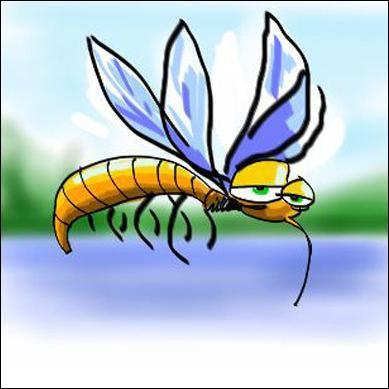 Je me change les idées en précorrigeant un quiz sur le thème des animaux et je lis  Lequel de ces deux moustiques peut piquer ?