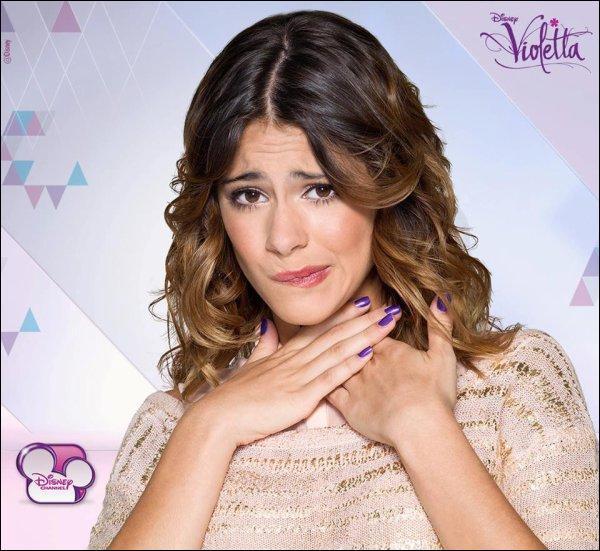 Pour changer voici la question d'un quiz sur Violetta :