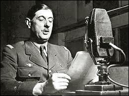 Où est de Gaulle le 18 juin 1940 ?