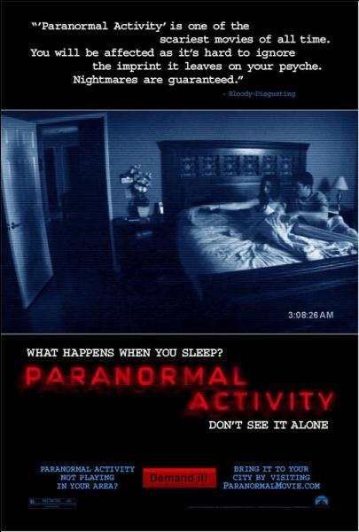 Quel personnage est présent dans tous les films  Activités Paranormales  ?