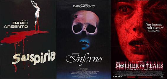Quel est le deuxième film de la ''Trilogie des Enfers'' (Les Trois Mères), de Dario Argento ?