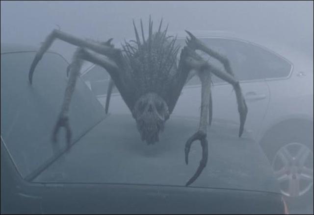 Où se cachent les gens du film  The Mist ?