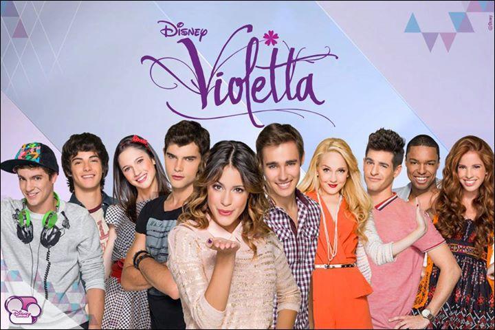 Quelle fille ne fait pas partie de  Violetta  ?