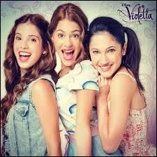 Je suis la meilleure amie de Violetta. Je suis :
