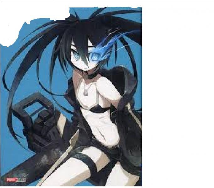 Comment s'appelle le manga de 'Black Rock Shooter' qui a cette image en première couverture ?