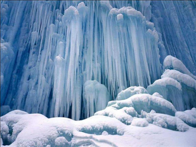 L'eau peut se solidifier (geler) à ...