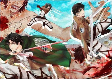 Qui sont ces personnes ? (Manga l'attaque des Titans)
