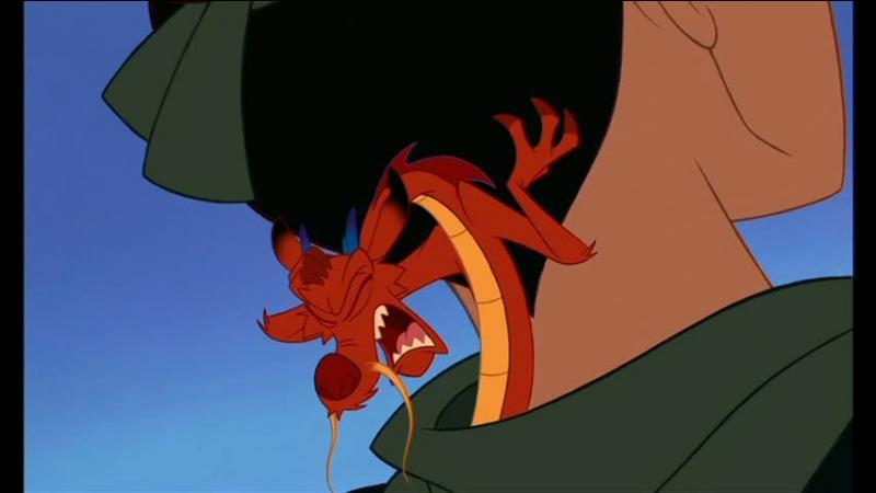 Comment s'appelle le fidèle guide de Mulan ?
