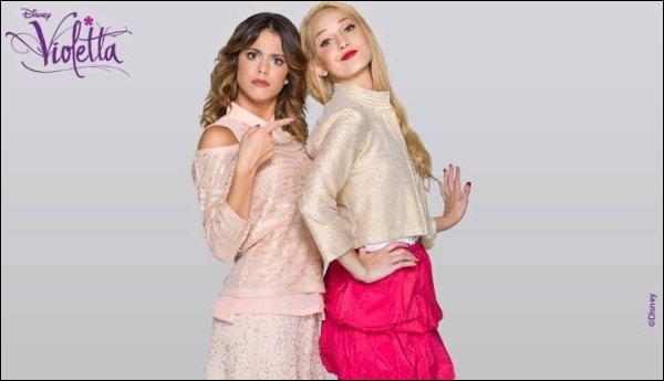 Qui y aura-t-il dans la saison 3 de  Violetta  ?