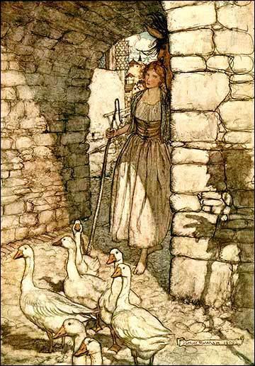 Illustration de Rackham :