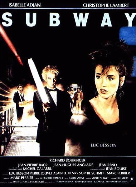 Quel acteur joue dans le film 'Subway' sorti en 1985 ?