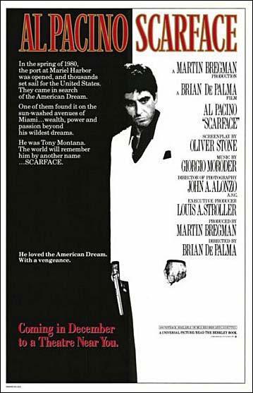 Quel film réalisé en 1983 est un remake d'un film de Howard Hawks ?