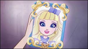 Qu'a Blondie Locks comme accessoire sur la tête ?