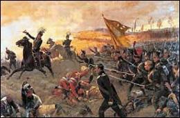 Napoléon doit affronter la 7ème coalition qui s'est liguée contre lui (Angleterre, Russie, Prusse, Suède, Autriche, Pays-Bas et divers États allemands). Quelle a été la bataille décisive du 18 juin 1815 ?