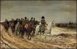 À la suite de quelle campagne militaire Napoléon a-t-il été contraint d'abdiquer le 6 avril 1814 ?