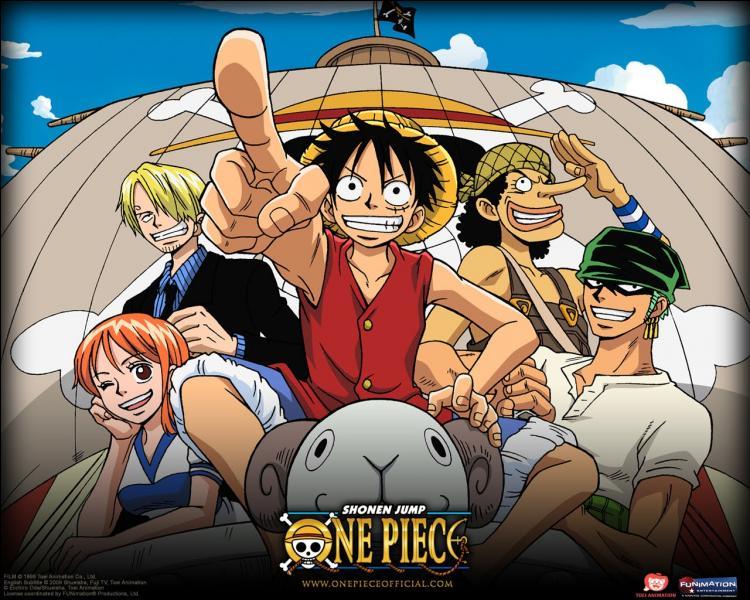 Dans quel ordre Monkey-D-Luffy a-t-il recruté ses compagnons ?