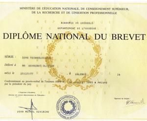 Le diplôme national du brevet
