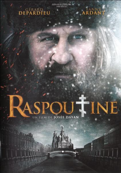 En 2011, quel acteur français, qui a depuis également pris la citoyenneté russe, incarne Grigori Raspoutine dans le téléfilm éponyme  Raspoutine , réalisée par Josée Dayan ?