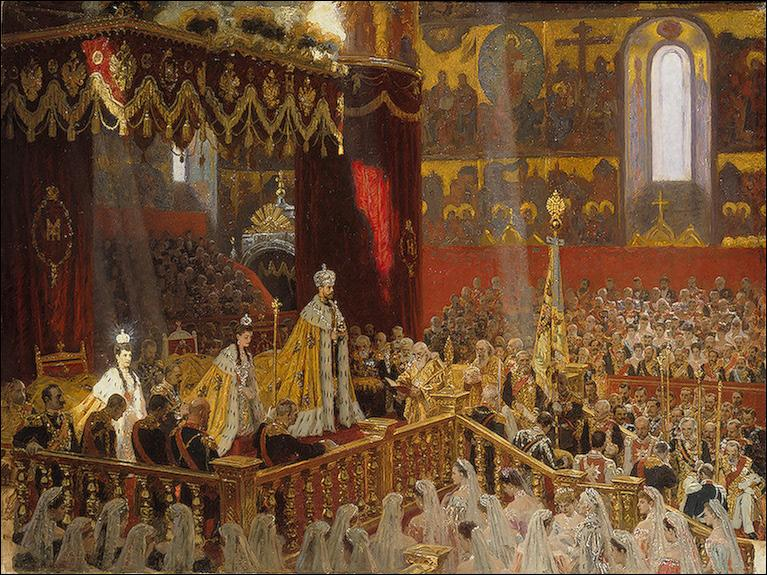 Le 26 Mai 1896, le couronnement de Nicolas II de Russie et de sa femme les consacre respectivement empereur et impératrice. En marge de cet événement, quel fait tragique va venir ternir cette journée ?