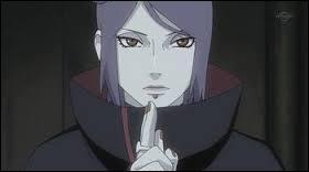 'Naruto Shippuden' : Konan, membre de l'Akatsuki, est une femme ninja du village d'Ame manipulant les origamis.
