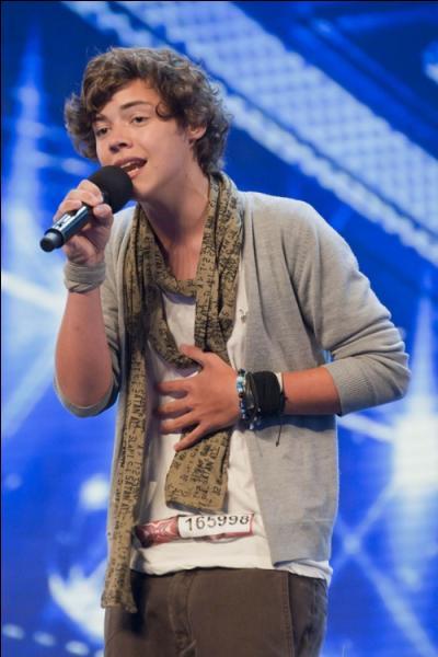 Avec quelle chanson Harry Styles auditionne-t-il à X Factor ?