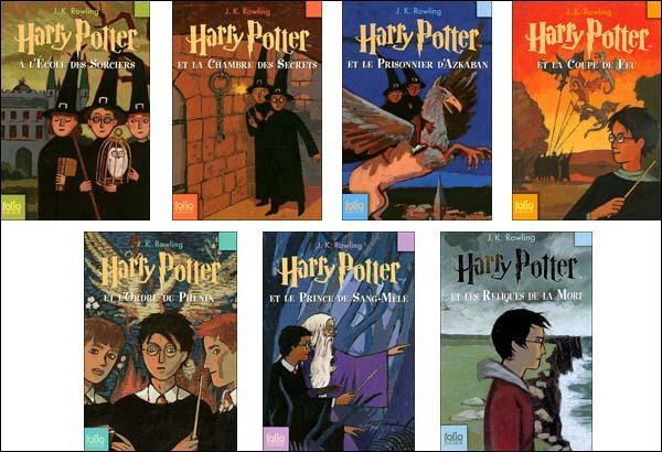 Combien y a-t-il de  Harry Potter  en tout ? (livres)