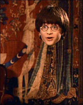 Qui offre la cape d'invisibilité à Harry Potter ?