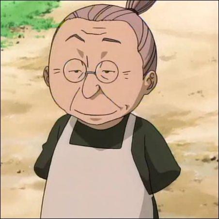 De quel manga vient cette grand-mère ?