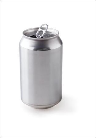 De quel métal la grande majorité des canettes servant au conditionnement des boissons sont-elles constituées ?
