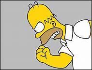 Sur quel parti du corps d'Homer y a-t-il les initiales de Matt Groening ?