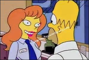 Quelle-était la musique que chantait Homer a Mindy (la collègue dont il était tomber amoureux) ?