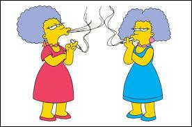 Comment pouvons-nous différencier les soeurs jumelles de Marge ?