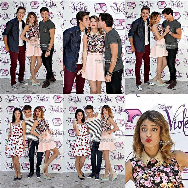 Qui Violetta a-t-elle embrassé en premier ?