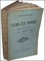 Est-elle écrite en vers ou en prose ? Si en vers, combien y a-t-il de syllabes ?