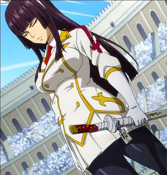 Comment s'appelle la fille qui n'a jamais dégainé son sabre ?