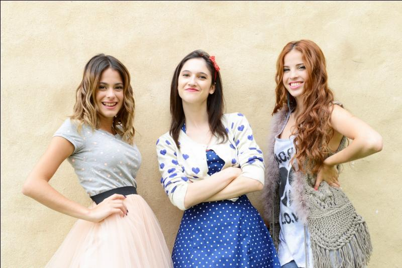 Violetta, Francesca et Camilla dans Violetta et dans la réalité