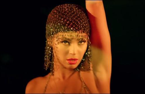 Allez savoir pourquoi, Beyoncé m'inspire aujourd'hui. Dans son titre  Partition , elle chante  driver roll up the partition please . Quel sens ce mot prend-il ici ?
