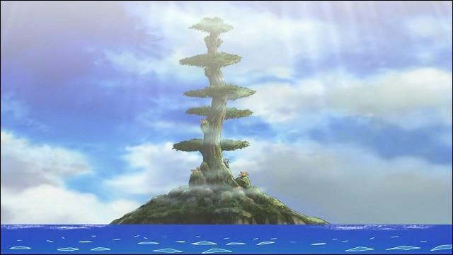 Sur quelle île Chopper est-il envoyé ?