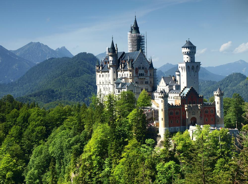 Des châteaux en Europe