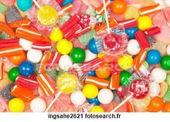 Le nom des bonbons