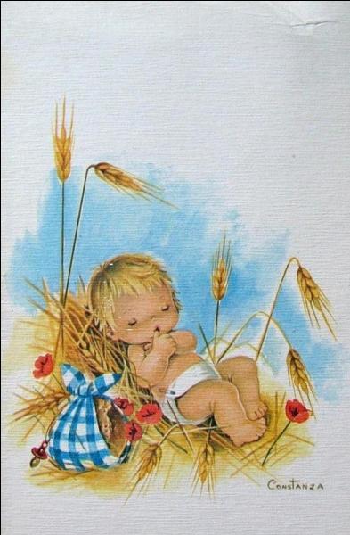 Dieu sema le blé et ...
