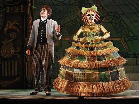 Dans  Les Contes d'Hoffmann , le seul et merveilleux opéra d'Offenbach, qui est Olympia ?