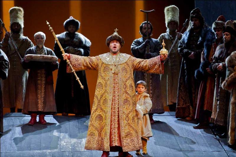 Dans  Boris Godounov  de Moussorgsky, comment Boris devient-il tsar ?