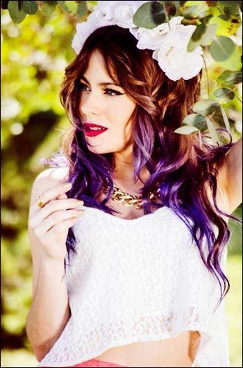 Comment s'appelle l'actrice qui joue Violetta ?