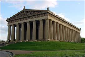 Quel est le style du Parthénon de l'Acropole à Athènes ?
