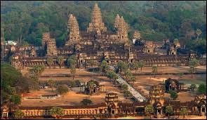 Où se trouve le temple d'Angkor ?