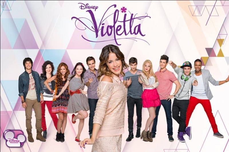 Violetta est une série télévisée...