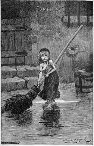 Contemporain de Gustave Doré, Emile Bayard a mis en images beaucoup de romans de la  Bibliothèque rose illustrée  créée par Hachette en 1856, dont  Les Misérables  de Victor Hugo. Quel est le prénom de l'héroïne surnommée Cosette ?