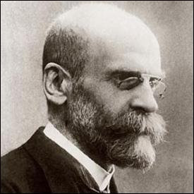 Qui était Emile Durkheim, né en 1858 et mort en 1917 ?