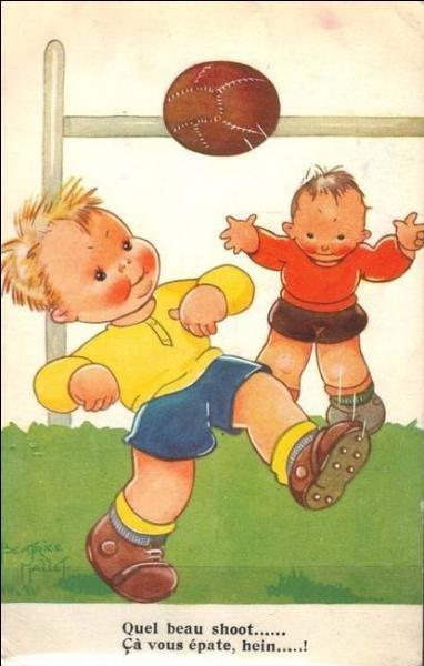 Dieu voulut créer le football, et histoire de faire rigoler Thierry, il lui demanda un coup de main !